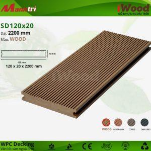lót sàn iWood SD120x20-Wood hình 1