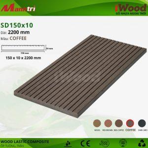 ốp tường iwood SD150x10-coffee hình 1