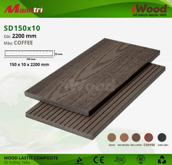 ốp tường iwood SD150x10-coffee hình 2