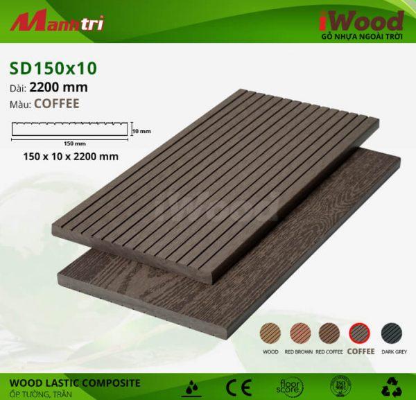 ốp tường iwood SD150x10-coffee hình 3