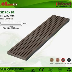 ốp tường iwood SD70x10-Coffee hình 1