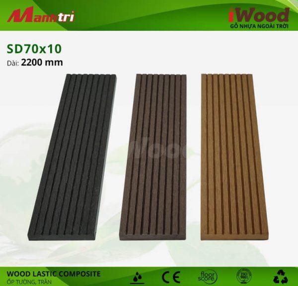 ốp tường iwood SD70x10 hình 2
