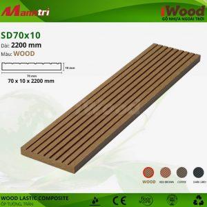 ốp tường iwood SD70x10-wood hình 1
