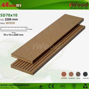ốp tường iwood SD70x10-wood hình 2