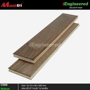 sàn gỗ kỹ thuật walnut engineer b