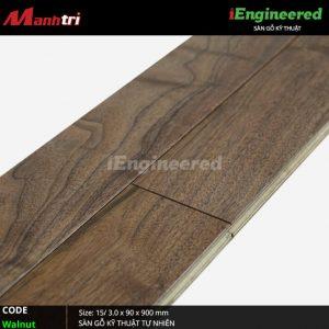 Sàn gỗ kỹ thuật Walnut iEngineer 3