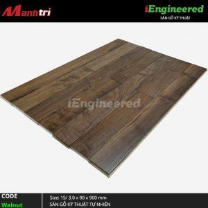 Sàn gỗ kỹ thuật Walnut iEngineer 4