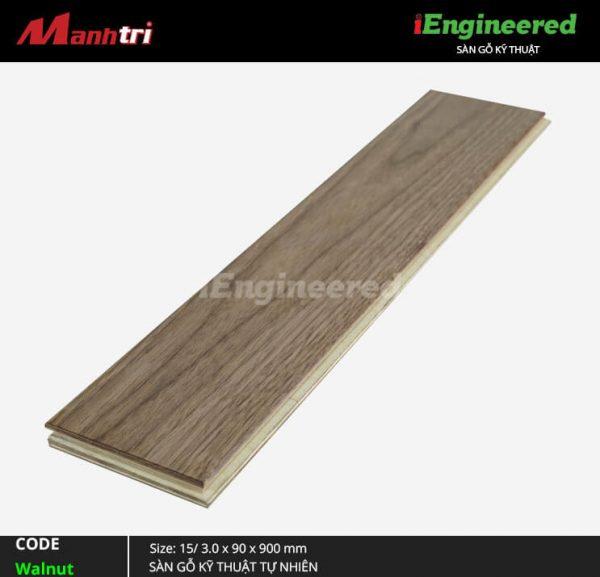 sàn gỗ kỹ thuật walnut engineer c