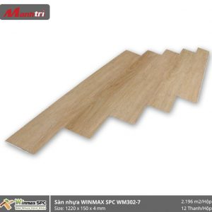 Sàn nhựa hèm khóa Winmax SPC WM302-7 hình 1
