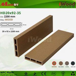 thanh lam iwood HD20x92-3S Wood hình 2