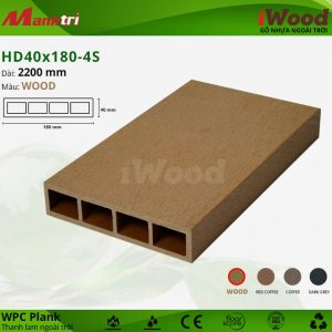 thanh lam iwood HD40x180-wood hình 1