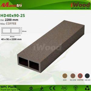 thanh lam iwood HD40x90-2S-Coffee hình 1 sửa