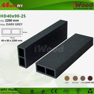 thanh lam iwood HD40x90-2S-Dark Grey hình 2 sửa