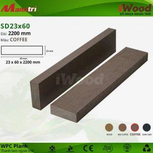 thanh lam iwood SD23x60-Coffee hình 2