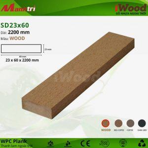 thanh lam iwood SD23x60-wood hình 1