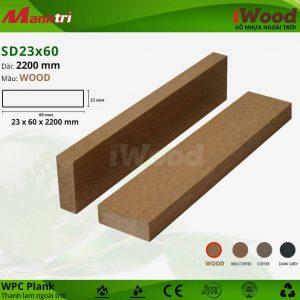 thanh lam iwood SD23x60-wood hình 2