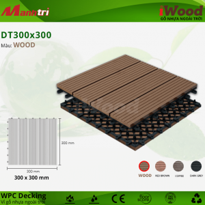 iWood DT 300 x 300 Wood