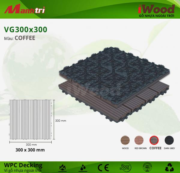 iWood vỉ gỗ nhựa WPC Decking