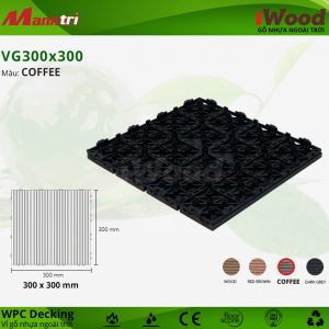 iWood VG 300 x 300 Coffee