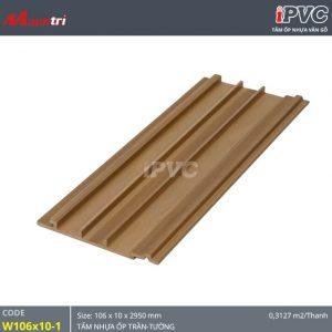Tấm ốp tường-trần iPVC W106x10-1 hình 1