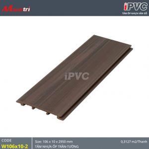 Tấm ốp tường-trần iPVC W106x10-2 hình 1