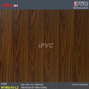 Tấm ốp tường-trần iPVC W106x10-L2 hình 1