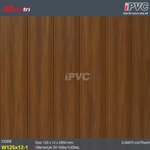 tấm nhựa iPVC W 125 x 12 - 1