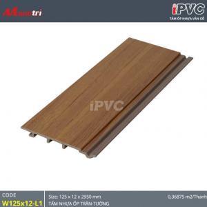 Tấm ốp tường-trần iPVC W125x12-L1 hình 1
