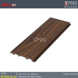 Tấm ốp tường-trần iPVC W125x12-L2 hình 1