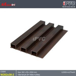 tấm nhựa iPVC 202x30-2