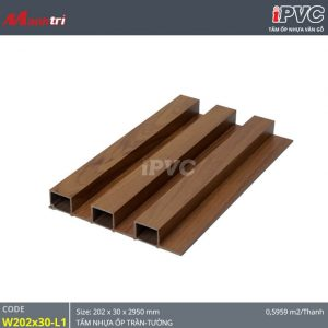 Tấm ốp tường-trần iPVC W202x30-L1-hình-1