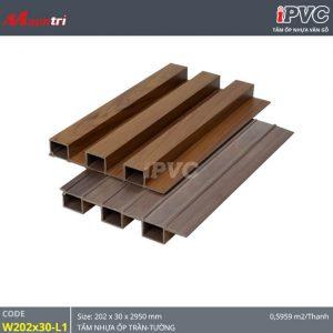 Tấm ốp tường-trần iPVC W202x30-L1