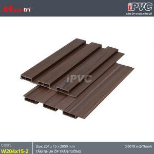 Tấm ốp tường-trần iPVC W204x15-2