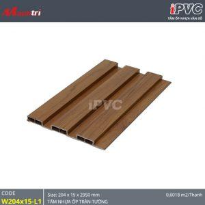 tấm nhựa iPVC W204x15 L1
