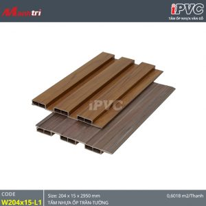 Tấm ốp tường-trần iPVC W204x15-L1