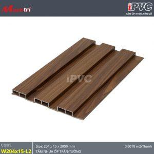 Tấm nhựa iPVC W204 x 15 L2 ốp tường