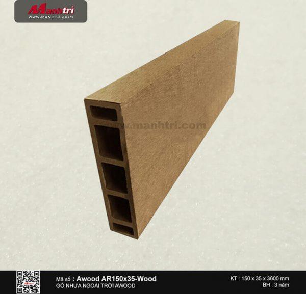 awood AR150x35 wood