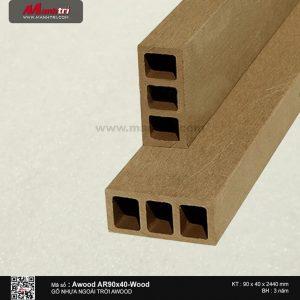 Awood AR 90 x 40 Wood
