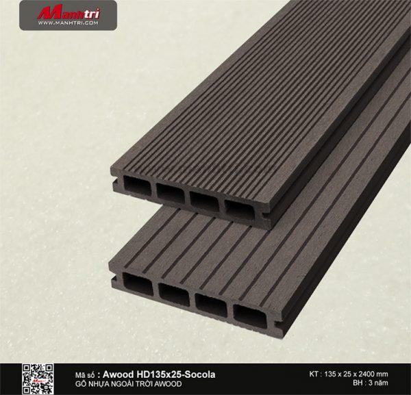 Awood HD 135x25 Socola