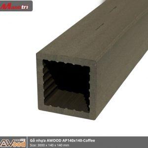 gỗ nhựa Awood AP140x140-coffee hình 1