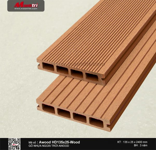 Awood HD 135 x 25 Wood