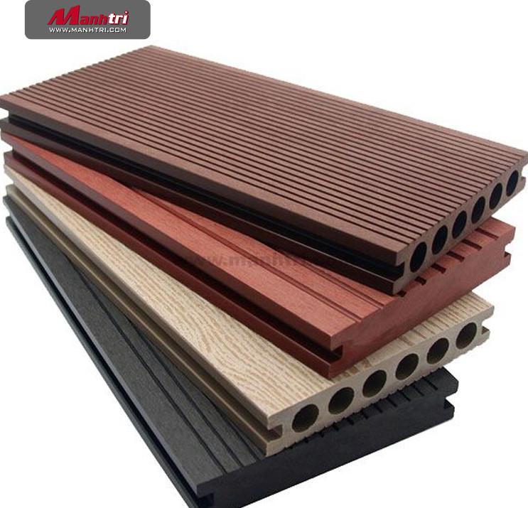 Cấu tạo của sàn gỗ nhựa ban công đa dạng và phong phú.