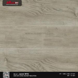 janmi sàn gỗ W16-12mm