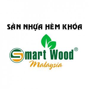 Logo nhãn hiệu sàn nhựa Smartwood