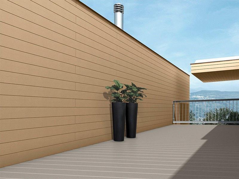 Ốp tường bằng gỗ nhựa iWood