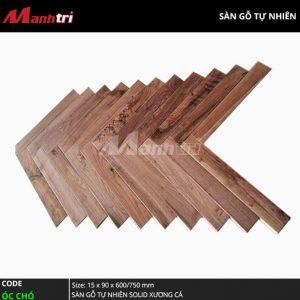 Sàn gỗ óc chó xương cá