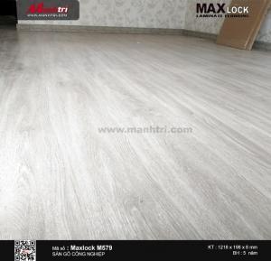 thi công maxlock M579 a
