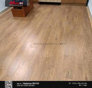 thi công sàn gỗ galamax c