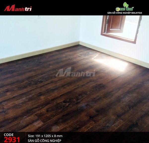 thi công sàn gỗ smartwood d