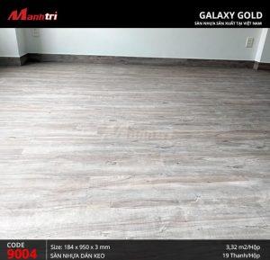 thi công sàn nhựa Galaxy Gold 9004 hình 6
